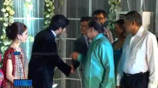 Mammootty Son Wedding Reception [Exclusive Vidoes on ezelinkz - YouTube.flv