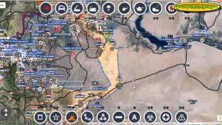 Обзор карты боев в Сирии за 17. 10. 2015 год