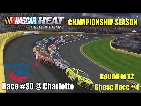 NASCAR Heat Evolution [Championship Season] - Race 30/36 - Bank of America 500