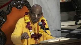 Giridhari Prabhu Evening Bhagavad Gita Class | 14th Jan 2019 | ISKCON Juhu