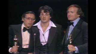 Rocky Wins Best Picture: 1977 Oscars Video