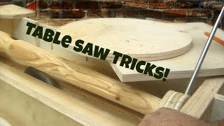 Table Saw - Tapered Spiral Legs