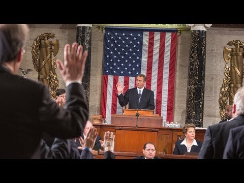 Speaker Boehner Addresses the Opening Session of the 113th Congress