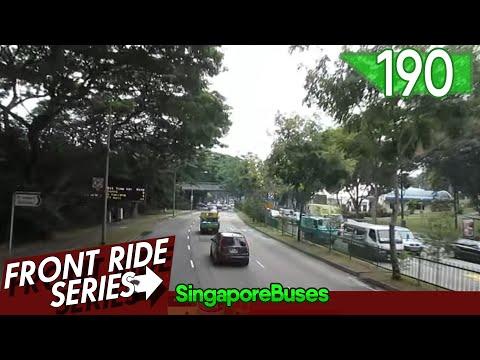 [SMRT] MAN A95 Demonstrator: SMB5888H | Service 190 [HD]