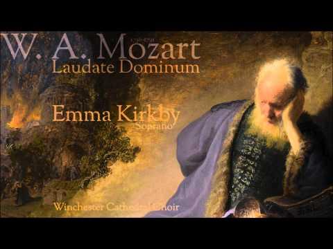 "Emma Kirkby - ""Laudate Dominum""   K 339  Mozart"