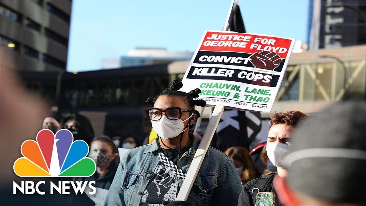 Minneapolis On High Alert, Prepping For Verdict in Derek Chauvin Trial | NBC Nightly News