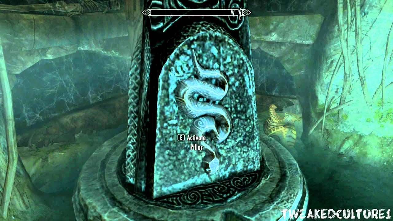 Forbidden Legend Geirmund's Hall Puzzle Unlock  Skyrim