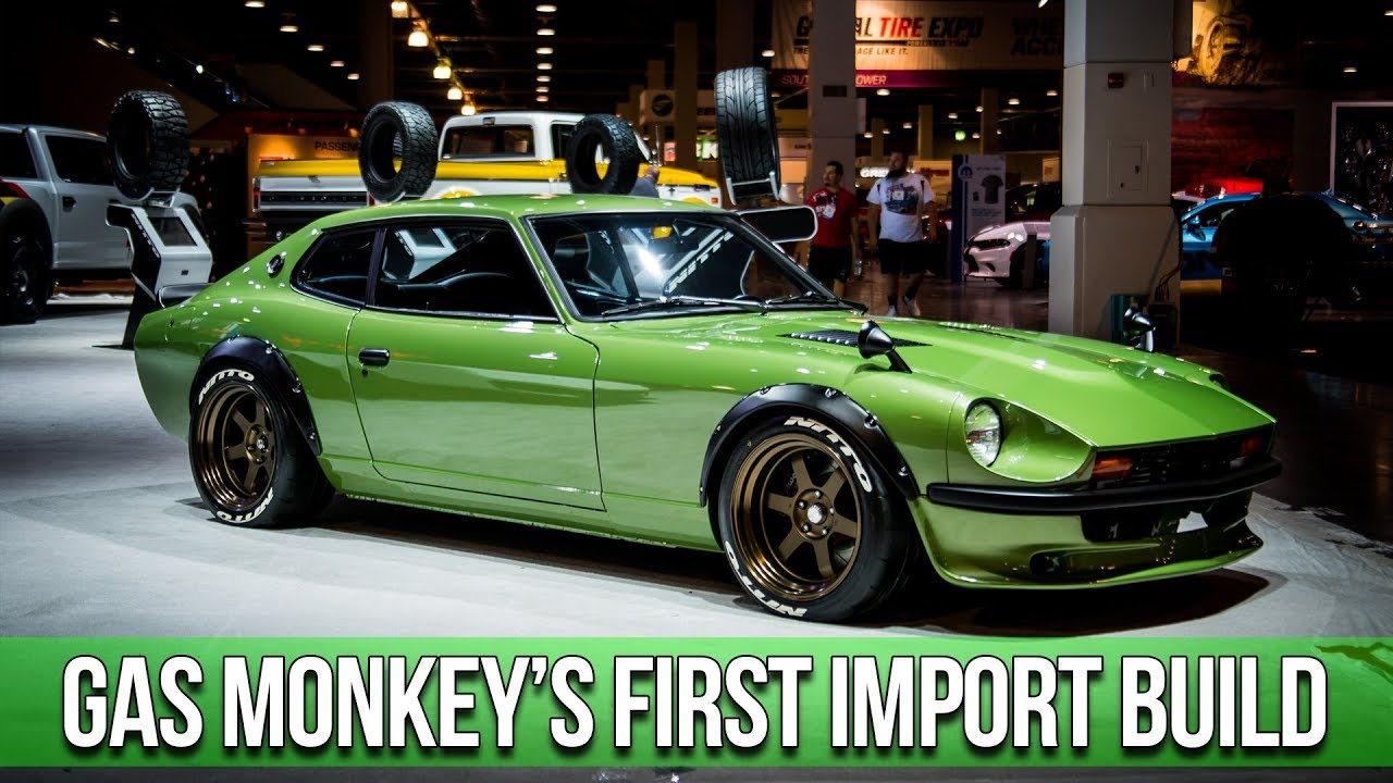 Gas Monkey Garage Builds a Japanese Import: In-Depth Look ...