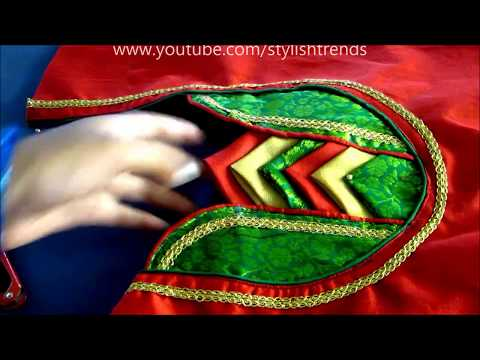 Latest Model Beads Designer Blouse Cutting and Stitching | DIY in Telugu