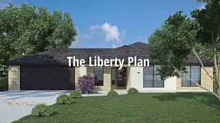 The Liberty plan by River Cliff Homes building in Fischer, Canyon Lake TX