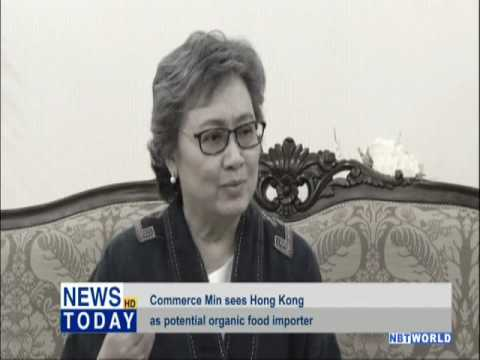 Commerce Min sees Hong Kong as potential organic food importer