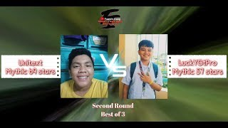 Unitext VS. LuckYGtPro | Second Round - Full Game | FIRST EVER 1v1 ML ONLINE TOURNAMENT