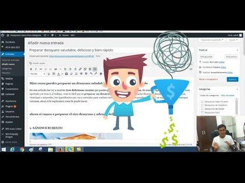 Curso AdSense - PASO 11 - Escribir Artículos/Post/Entradas con SEO (Tráfico Orgánico)
