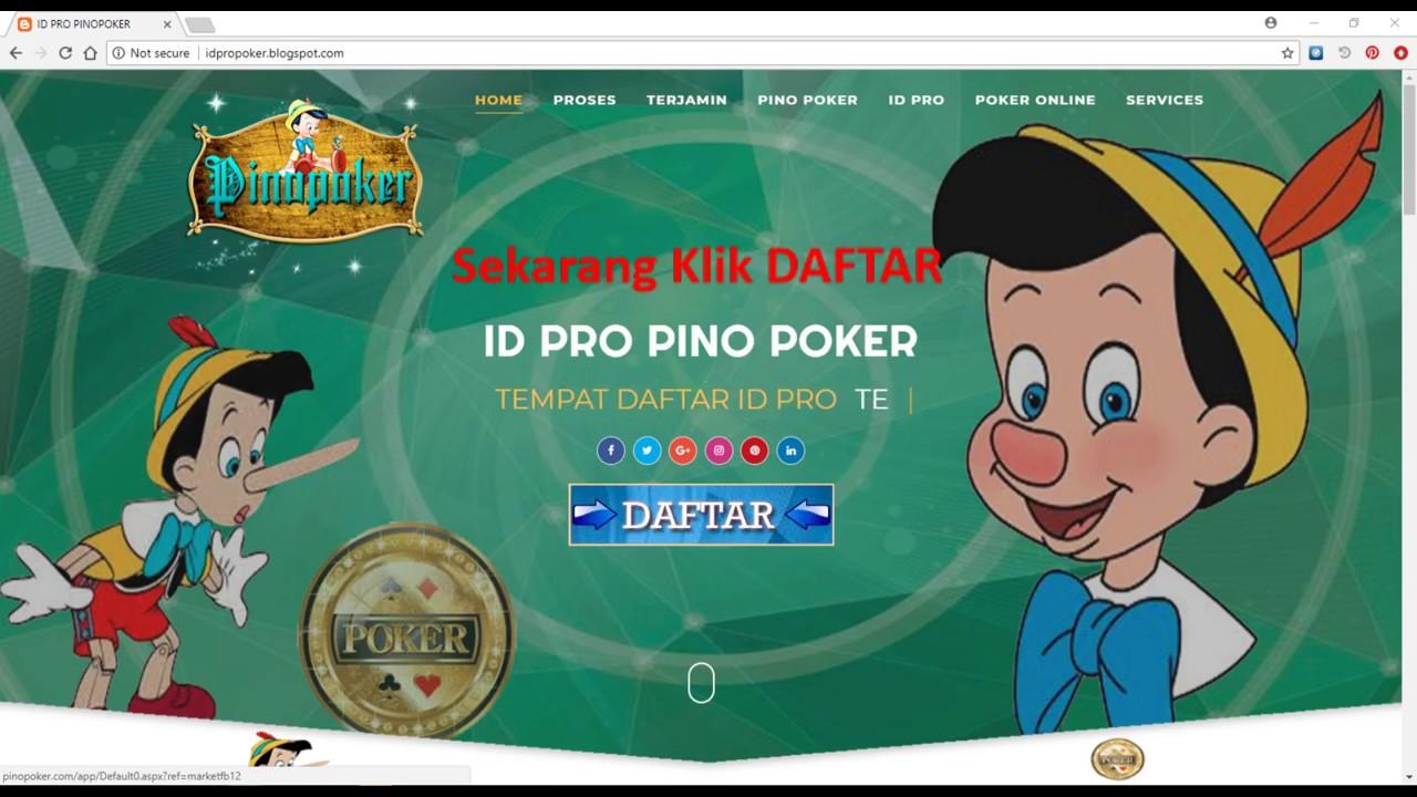 Rahasia Cara Daftar Akun Id Pro Poker Online Yang Terbukti 100 Youtube