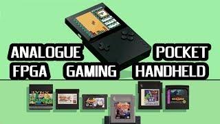 The NEW Analogue Pocket a new FPGA Retro Gaming Handheld Console