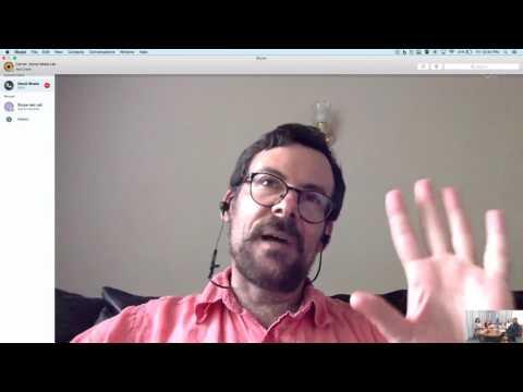 Skype Conversation with David Brake