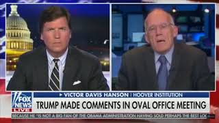 Victor Davis Hansen on President's language - namely use of