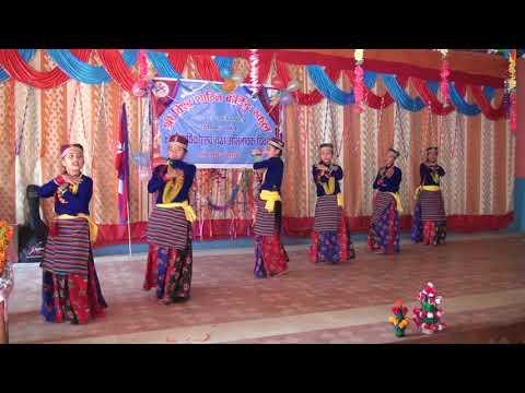 Tunna Ra Damphu Bajaudai By Class 8 Students Bishow Shanti Boarding School