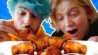 Vegane Chicken Wings kochen! mit iBlali