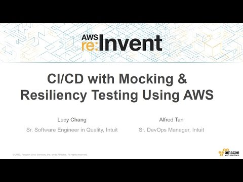 CI/CD of Services with Mocking and Resiliency Testing