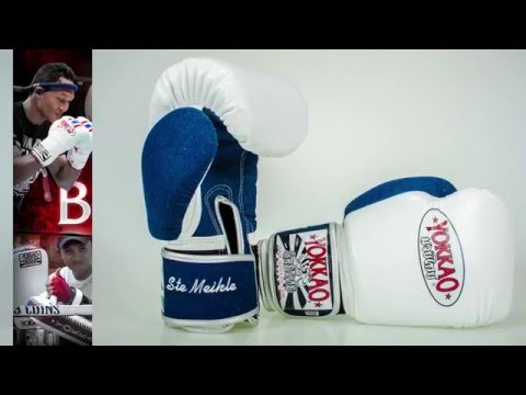 YOKKAO Muay Thai Customized Gloves - Muay Thai Boxing Gloves Thailand PREMIUM LEATHER