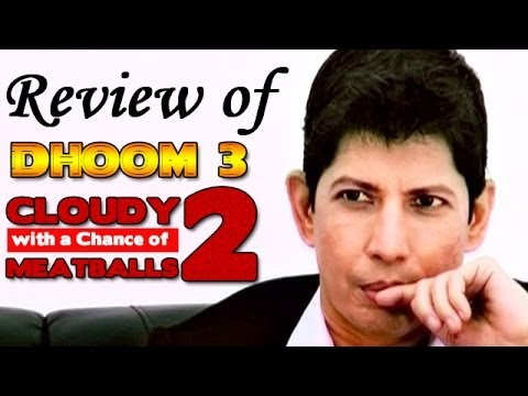 The zoOm Review Show - Dhoom 3, Cloudy with a Chance of Meatballs 2 : Online Movie Review