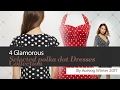 4 Glamorous Selected polka dot Dresses Collection By Acevog Winter 2017