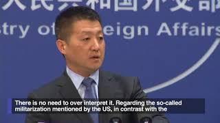 China: Activities in SCS just 'regular exercises,' no need to over-interpret it