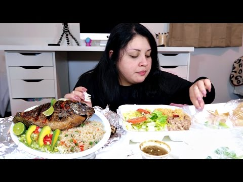 Fried Fish Mukbang/Eating Show