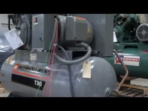 Ingersoll Rand T30 Two-Stage Reciprocating Air Compressor