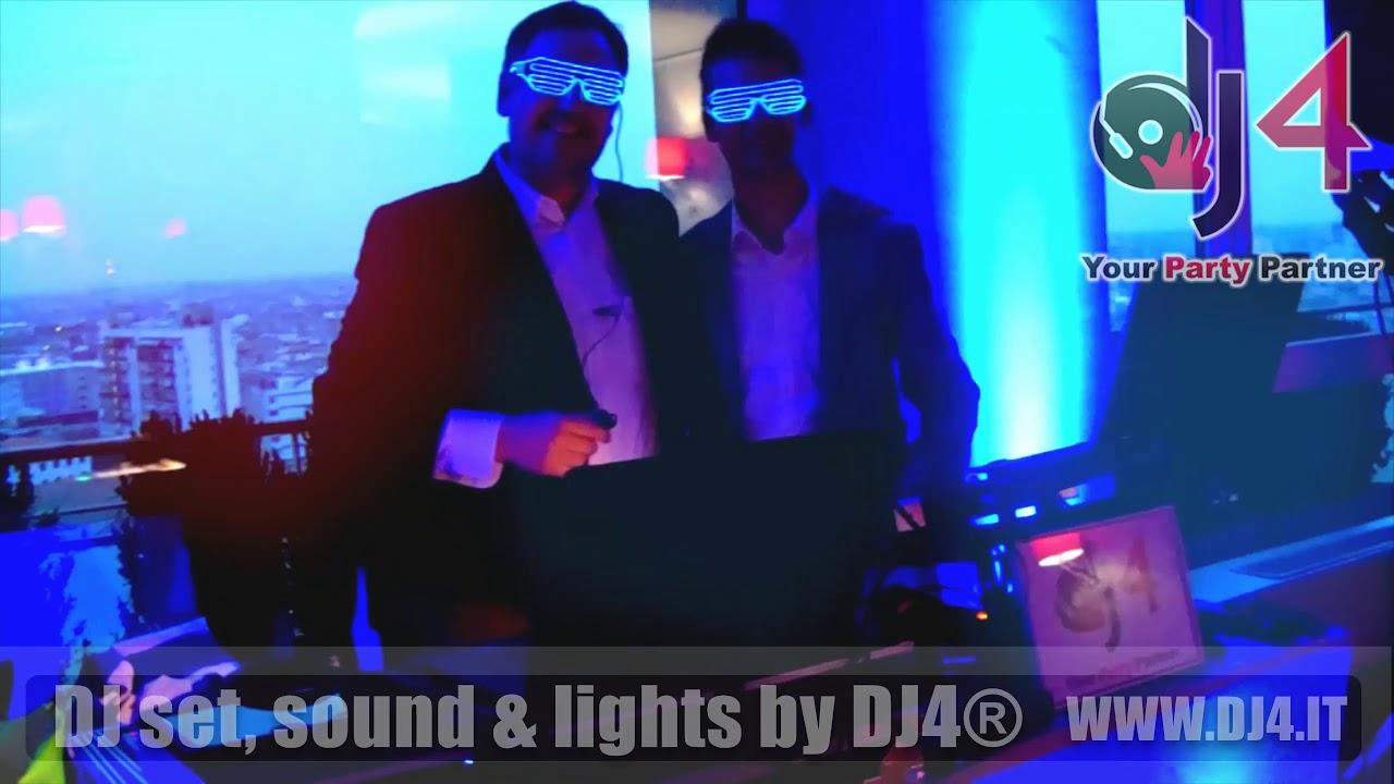 DJ set DJ4 per Festa dei 18 anni @Terrazza Martini Milano - YouTube