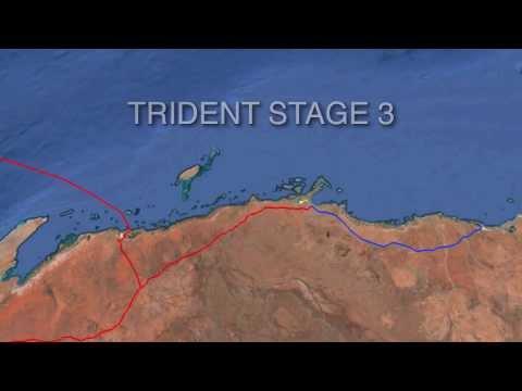 The Trident Network - Stage 3 - Carnarvon Basin O&G Platforms