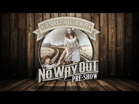 WWE No Way Out 2012 Pre-Show