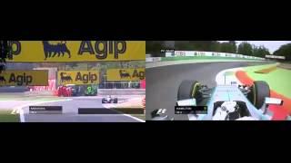 Montoya (2004) VS Hamilton (2015) Monza GP