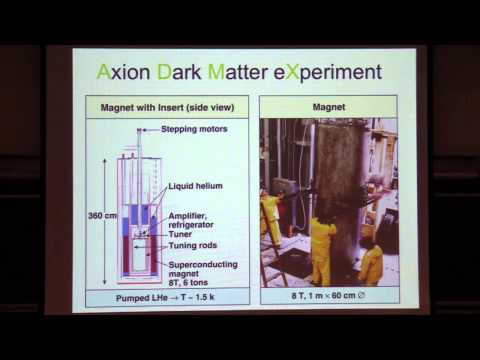 Colloquium  March 6th, 2014 -- Axion Dark Matter