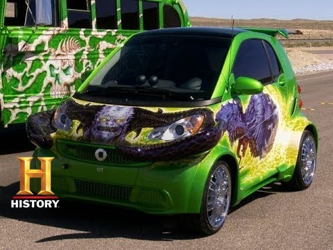 Counting Cars: Horny Mike's Horned Smart Car (S4, E12)