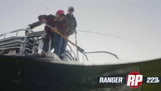 Ranger 223F Reata Pontoon On-Water Footage