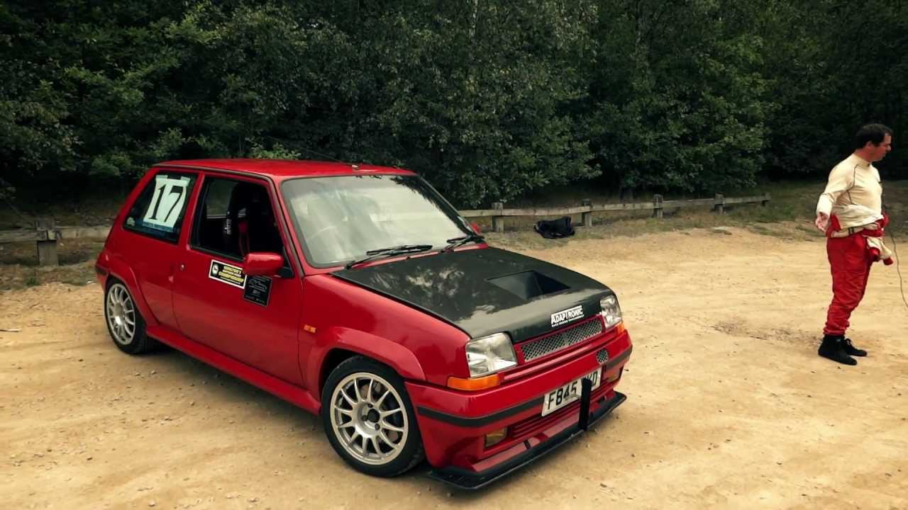 Renault 5GT Turbo Race car - YouTube