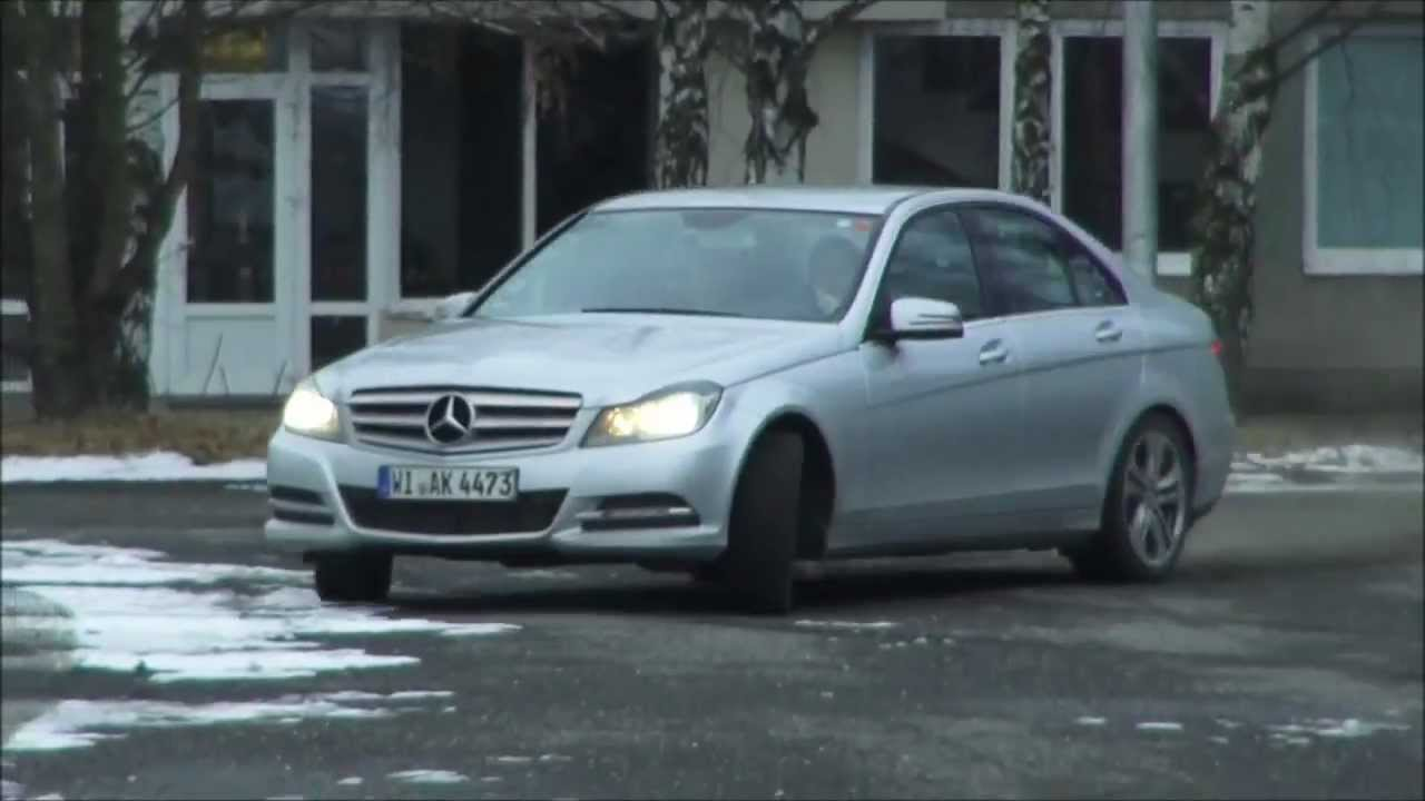 mercedes c200 cdi test drive youtube. Black Bedroom Furniture Sets. Home Design Ideas