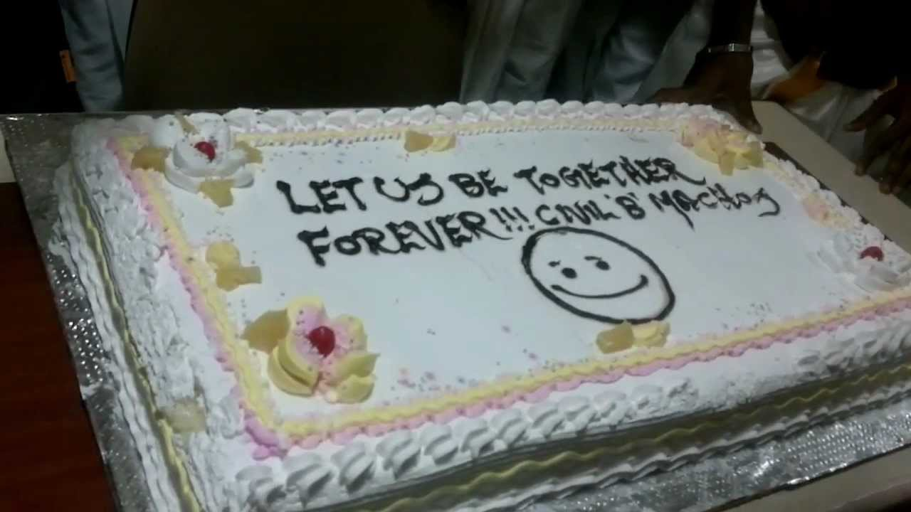 SRM CIVIL (2008-2012) FAREWELL .. CAKE CUTTING CEREMONY - YouTube