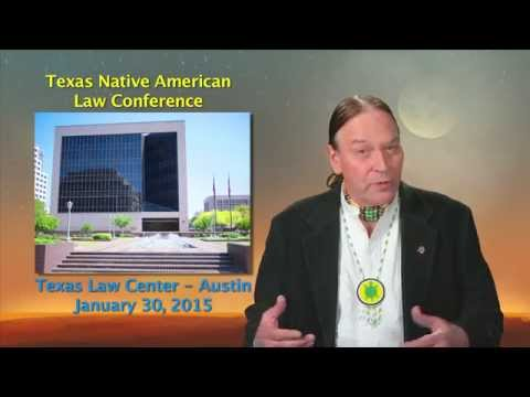 2015 Texas Native American Law Conference Invitation to Attend