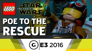 15 Minutes of LEGO Star Wars Gameplay - E3 2016