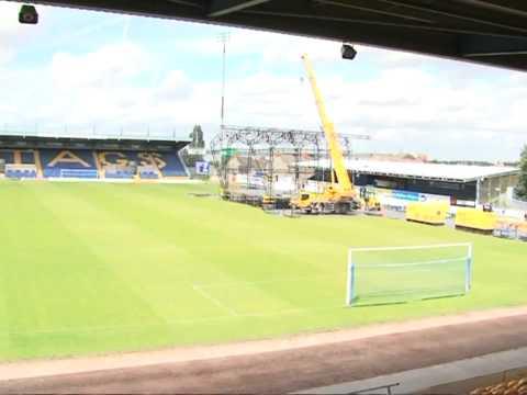 Westlife @ Field Mill Stadium, Mansfield