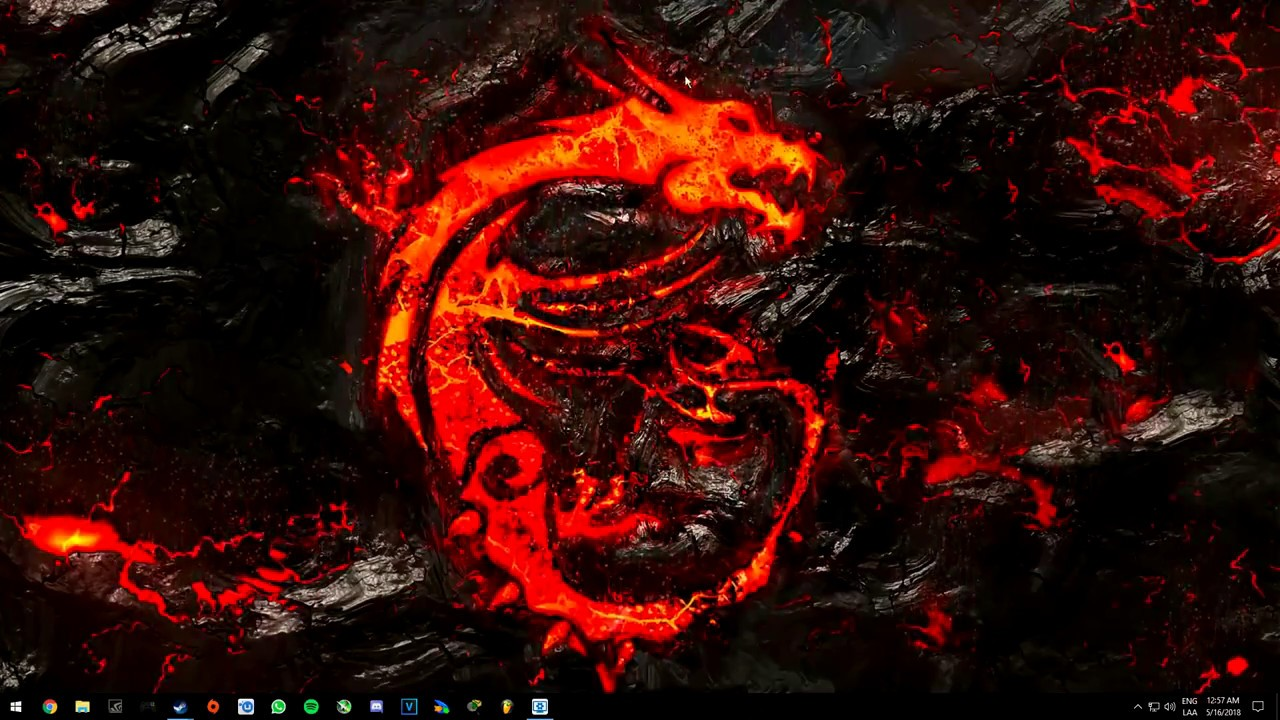 Wallpaper Engine Msi Dragon 4k