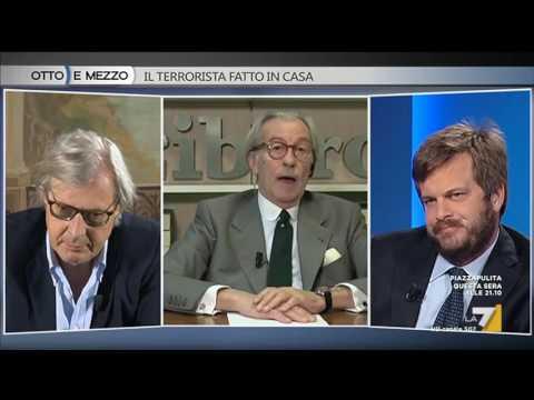 Feltri: Milano è un città di accattoni