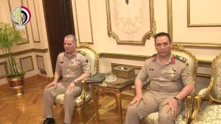 بالفيديو.. تفاصيل لقاء وزير الدفاع مع وفد الكونجرس