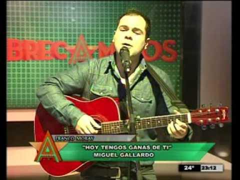 """Download Franco Moray """"Hoy tengo ganas de tí"""" - Abrecaminos Sexta Edición"""
