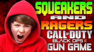 Squeaker With A Bad Mouth On Black Ops 2 Gun Game
