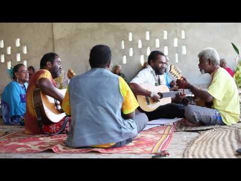 Musique traditionnelle à Hwadrilla iaai Kanaky