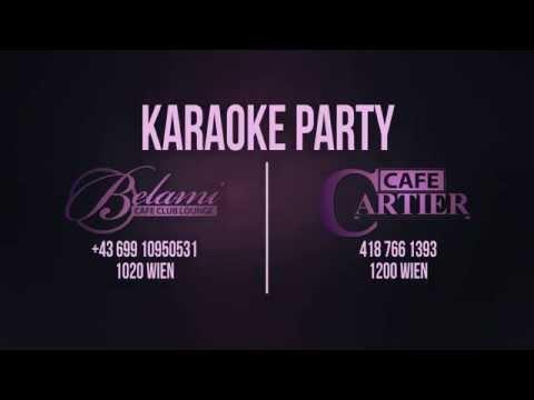 KARAOKE PARTY - CETVRTAK Cafe Belami PETAK Cafe Cartier Top Music Tv